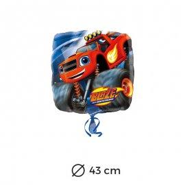 Balão Foil Quadrado Blaze 43 cm