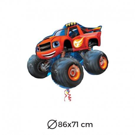 Balão Foil Forma Carro Blaze 86x71 cm