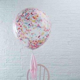 Balão de Confete Gigante 90 cm