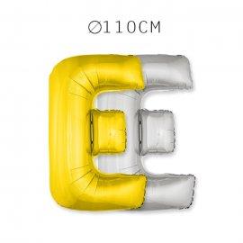 Balão Letra E 110 cm