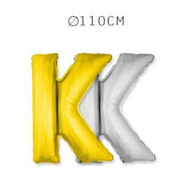 Balão Letra K 110 cm