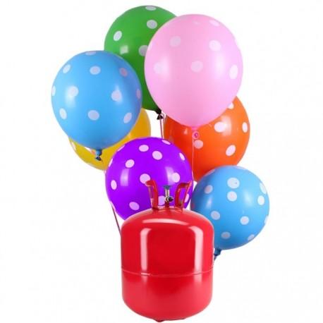 Botijão de Hélio Maxi com 50 Balões Lunares