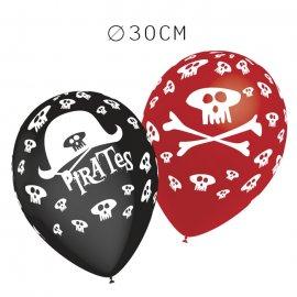 Balões Pirara Pack Redondos 30 cm