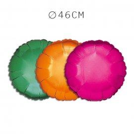 Balão Redondo Foil 46 cm