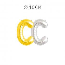 Balão Letra C 40 cm