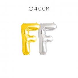 Balão Letra F 40 cm