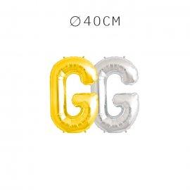 Balão Letra G 40 cm