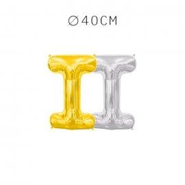 Balão Letra I 40 cm