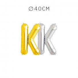 Balão Letra K 40 cm