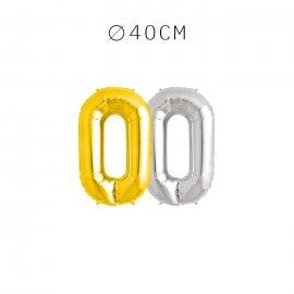 Balão Letra O 40 cm
