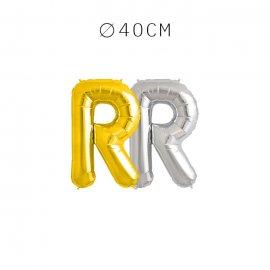 Balão Letra R 40 cm