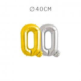Balão Letra Q 40 cm