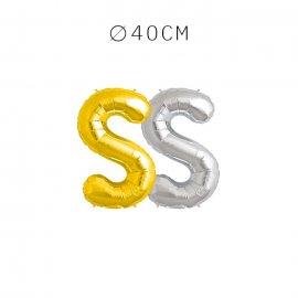 Balão Letra S 40 cm