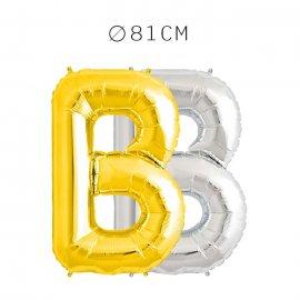 Balão Letra B Foil 81 cm