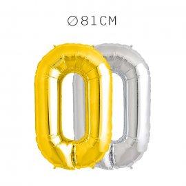 Balão Letra O Foil 81 cm