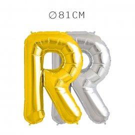 Balão Letra R Foil 81 cm