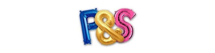 Balões com Letras
