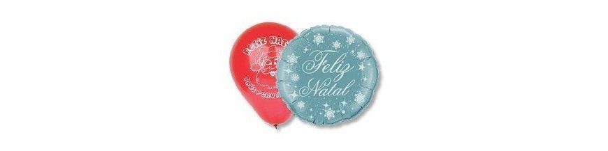 Balões de Natal