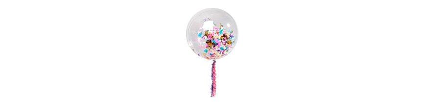 Balões de Confete