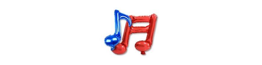 Balões de Notas Musicais